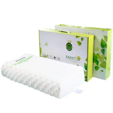 泰国PAPATYA乳胶枕(P1高低颗粒)